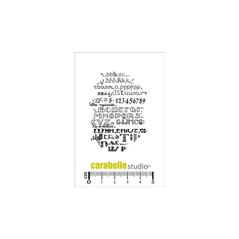 Tampons Mini - Carabelle Studio - Leçon de typographie