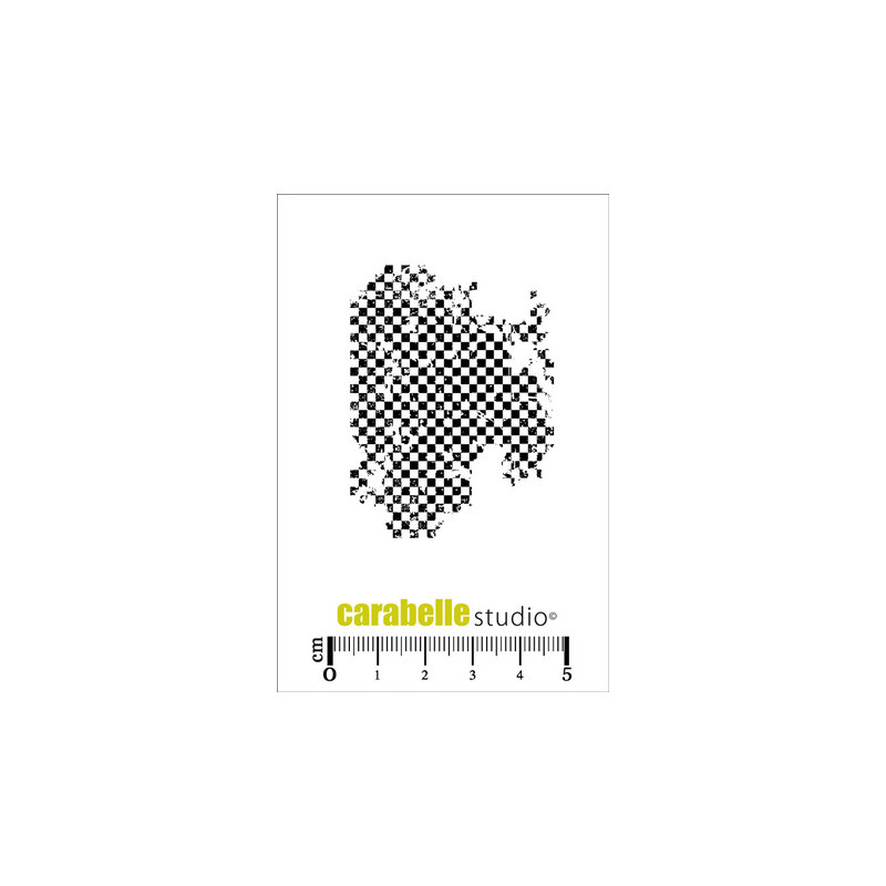 Tampons Mini - Carabelle Studio - Texture mini damier