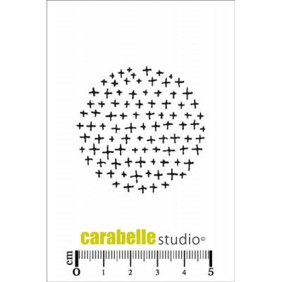 Tampons Mini - Carabelle Studio - Un rond avec des Croix