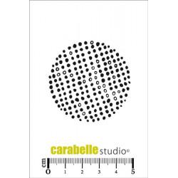 Tampons Mini - Carabelle Studio - Un rond avec des points