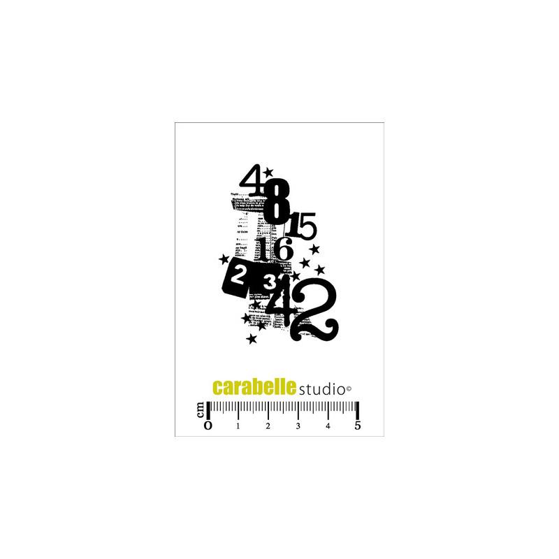 Tampons Mini - Carabelle Studio - 4,8,15,16,23,42