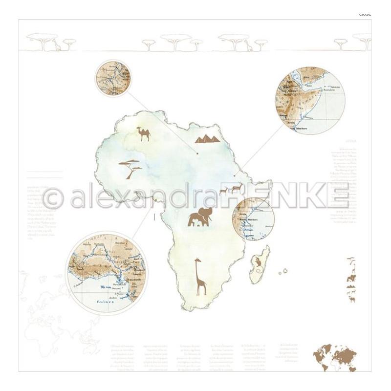 Pack 30.5x30.5 - Alexandra RENKE - 6 continents