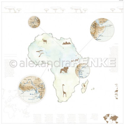 Pack 30.5x30.5 - Alexandra RENKE - 6 continents