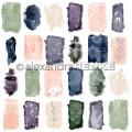 Pack 30.5x30.5 - Alexandra RENKE - Motifs abstraits Aquarelle