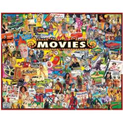Puzzle White Mountain - 1000 pièces - Cinéma
