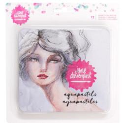 Crayons aquarelles - Jane Davenport