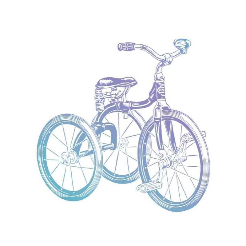 Tampon Clear - Couture Creations - Tricycle