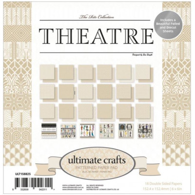 Pack 15.2 x 15.2 - Ultimate crafts - Theatre