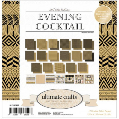 Pack 15.2 x 15.2 - Ultimate crafts - Evening Cocktail