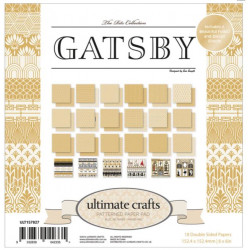 Pack 15.2 x 15.2 - Ultimate crafts - Gatsby