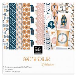 Pack papier 30x30 - Sokai - SO' Folk