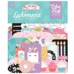 Die Cuts - Echo Park - Birthday - Girl Ephemera