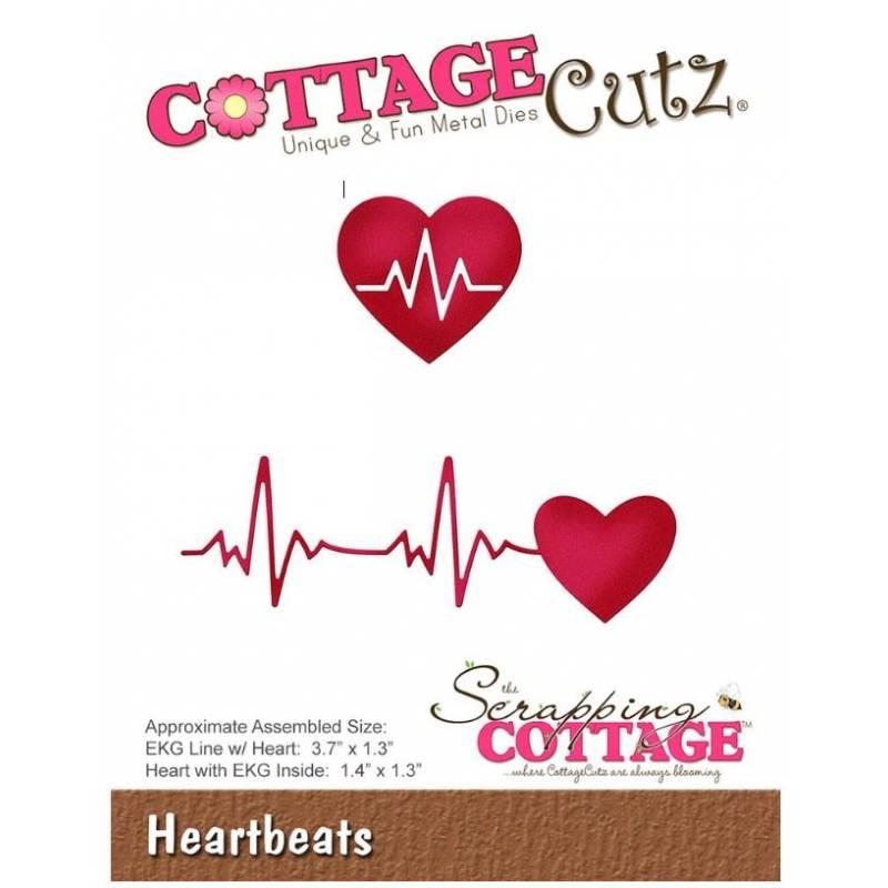 Scrapping Cottage - Die - Battements du coeur