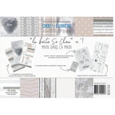 Boîte So Chou - Chou & Flowers - Main dans la main