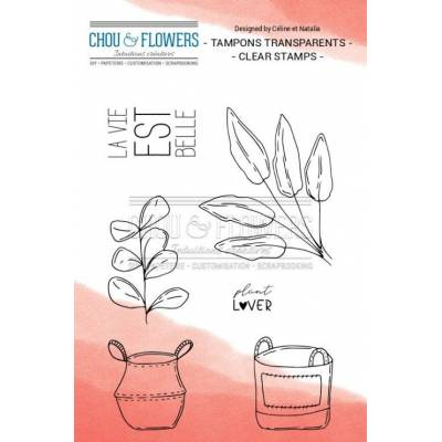 Tampons Clear - Chou & Flowers - Home - Plant Lover