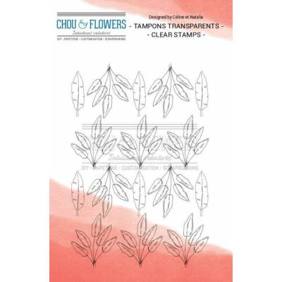 Tampons Clear - Chou & Flowers - Home - Tapisserie