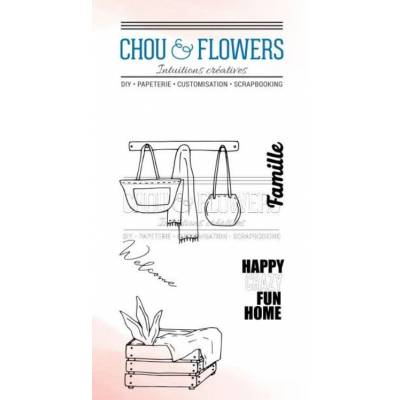 Tampons Clear - Chou & Flowers - Home - Hall d'entrée