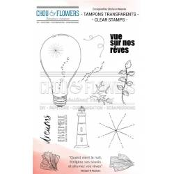 Tampons Clear - Chou & Flowers - Souffle d'hiver - Ampoule