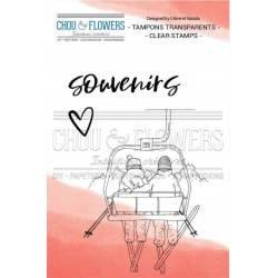 Tampons Clear - Chou & Flowers - Souffle d'hiver - Télésiège