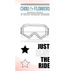 Tampons Clear - Chou & Flowers - Souffle d'hiver - the ride