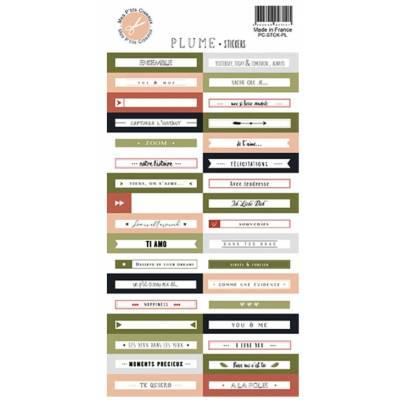 Stickers - Mes Ptits Ciseaux - Plume