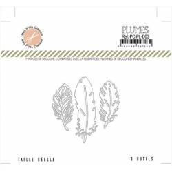 Die - Mes P'tits Ciseaux - Plumes - Les plumes