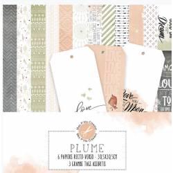 Pack Papiers - Mes Ptits Ciseaux - Collection Plume