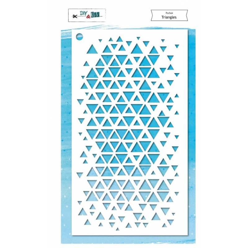 Pochoir - DIY and Cie - Triangles