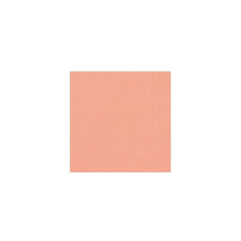 Bazzill Coral Cream - Crème corail
