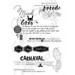 Tampons CartoScrap - Mardi Gras