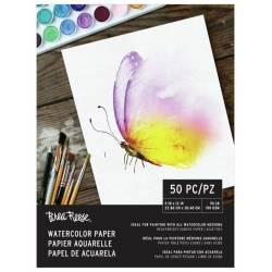 Bloc papier aquarelle - Brea Reeze - 190gr/m² 22.9x30.5 cm (50 feuilles)