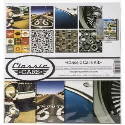 Pack 30x30 -Reminisce - Classic Cars Kit