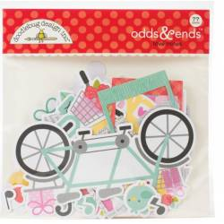Die Cuts - Doodlebug Design - Love notes