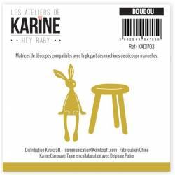 Dies - Les Ateliers de Karine - Hey Baby - Doudou