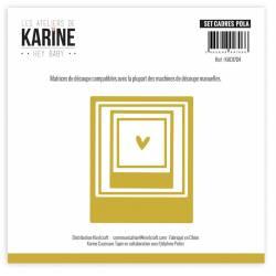 Dies - Les Ateliers de Karine - Hey Baby - Set cadres pola