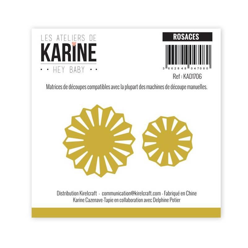 Dies - Les Ateliers de Karine - Hey Baby - Rosaces