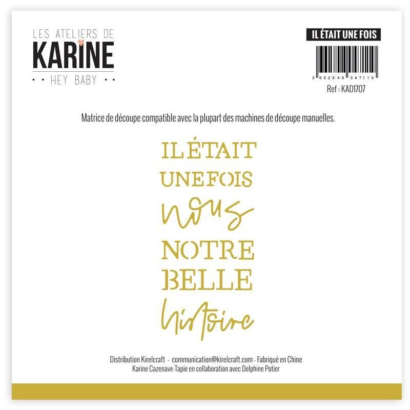 Dies - Les Ateliers de Karine - Hey Baby - Il était une fois