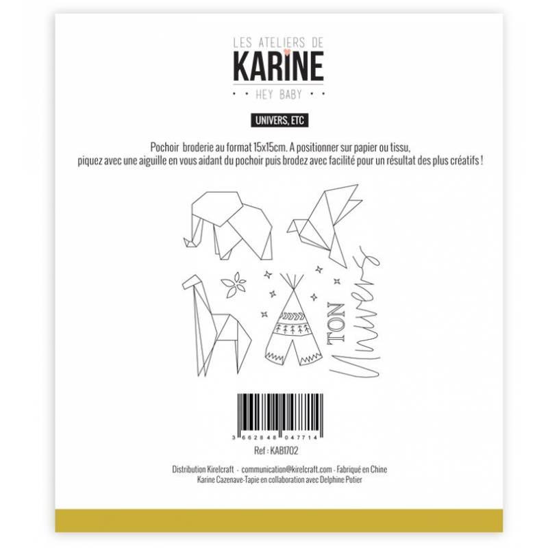 Pochoir - Les Ateliers de Karine - Hey Baby Univers