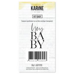 Tampons clear - Les Ateliers de Karine - Hey Baby - Hey Baby