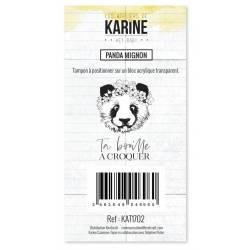 Tampons clear - Les Ateliers de Karine - Hey Baby - Panda Mignon