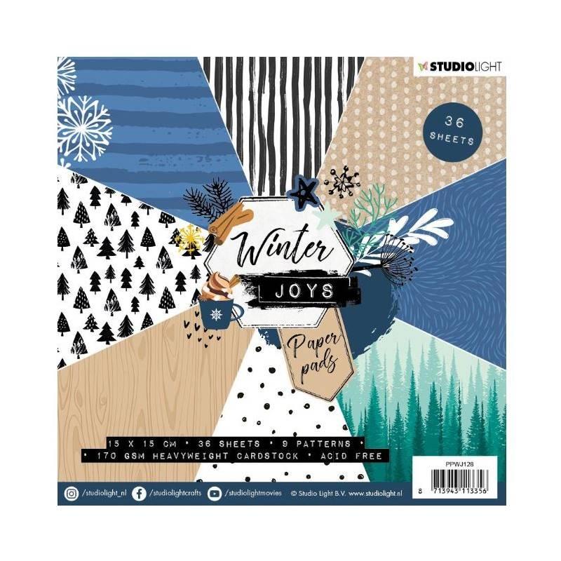 Mini Pack 15x15 - Studio Light - Winter Joys 2