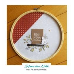Cercle à broder par Amélie - Tuto