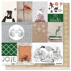 Pack Papier 30x30 - Les Ateliers de Karine - Woodland