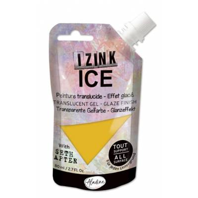 Peinture Izink Ice - Aladine - 80ml - Jaune - Melted Butter