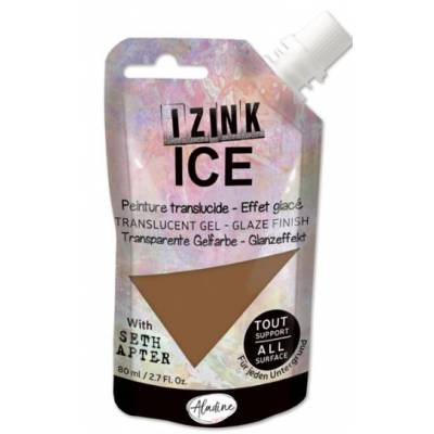 Peinture Izink Ice - Aladine - 80ml - Miel Whiskey Frost