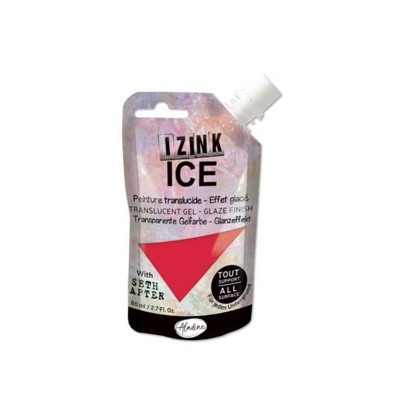 Peinture Izink Ice - Aladine - 80ml - Rouge - Slurpee