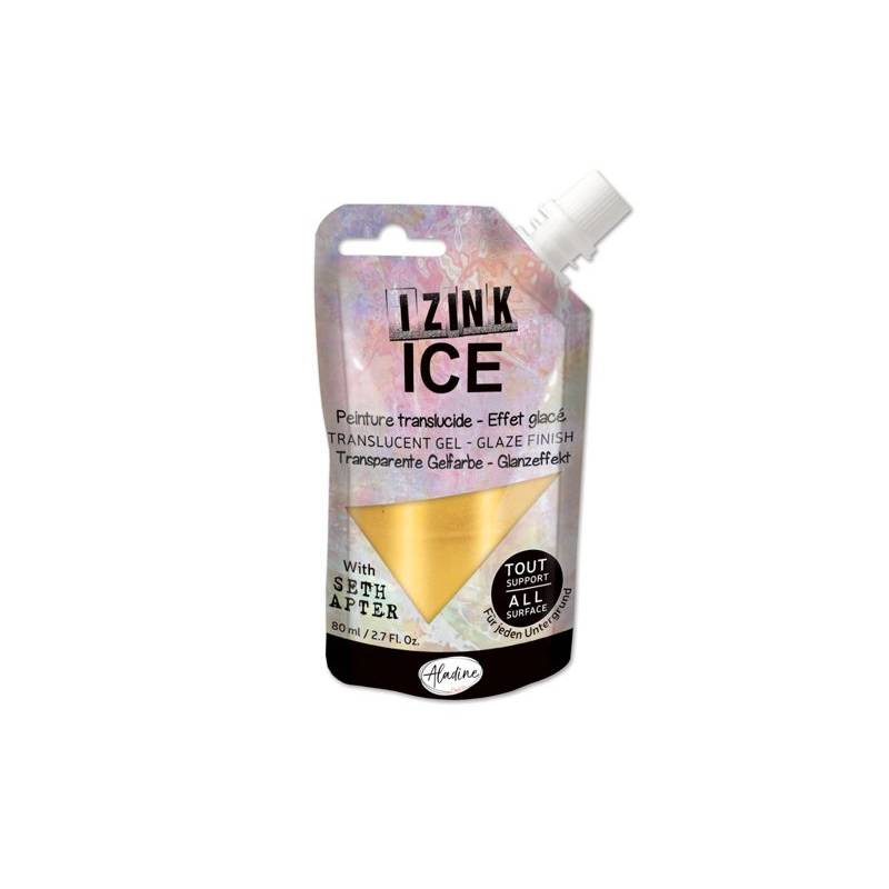 Peinture Izink Ice - Aladine - 80ml - Or - Cold Gold