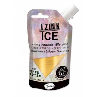 Peinture Izink Ice - Aladine - 80ml - Or - Cold Gold