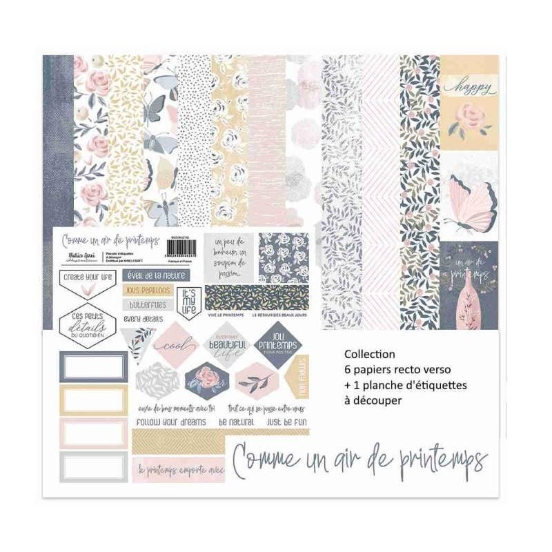 Pack 30x30 - Béatrice Garni - Comme un air de printemps