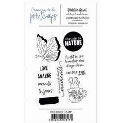 Tampons 1 - Comme un air de printemps - Béatrice Garni